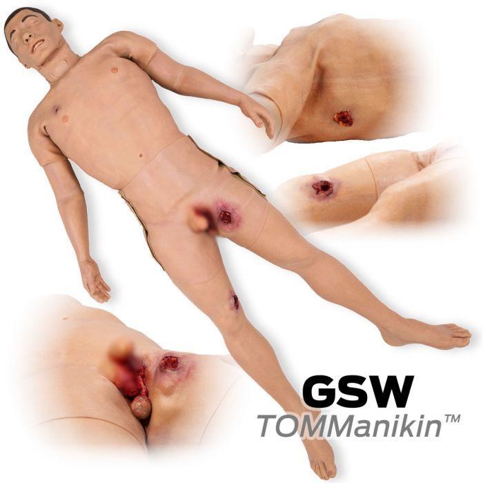 GSW TOMManikin