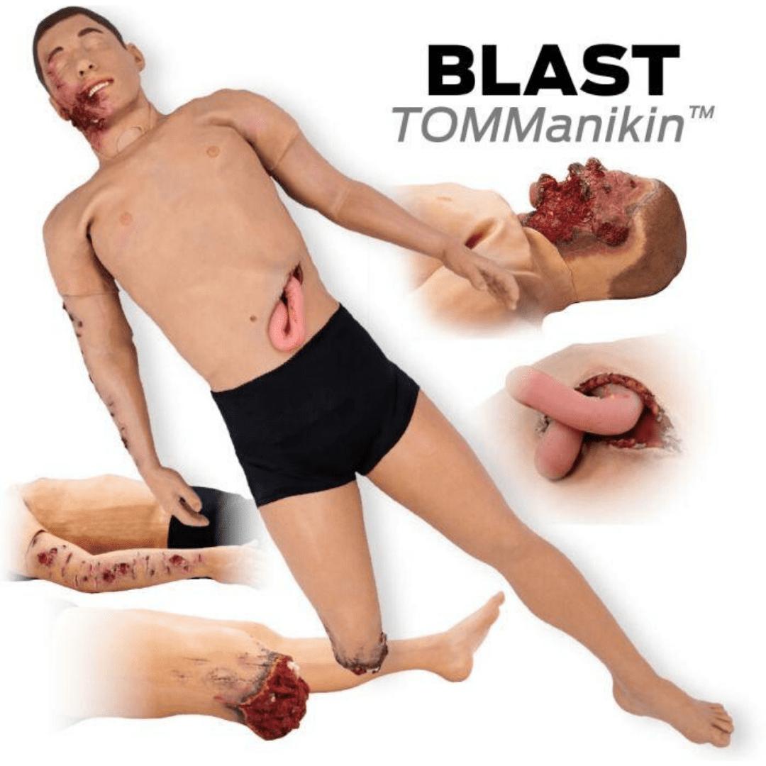BLAST TOMManikin