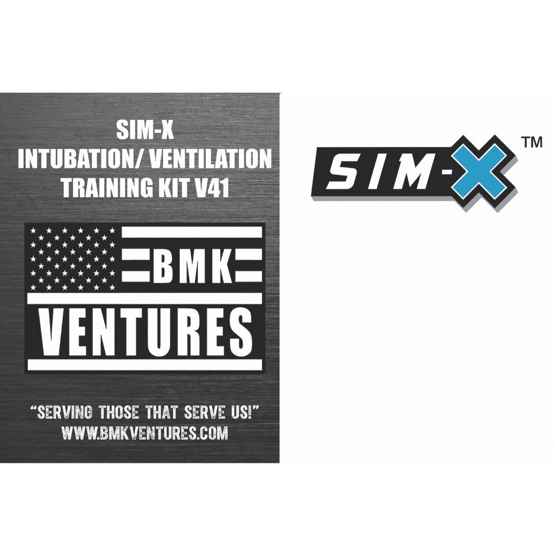SIM-X-INTUBATION/VENTILATOR TRAINING KIT V41